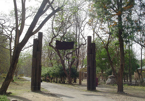 jim corbett entrance